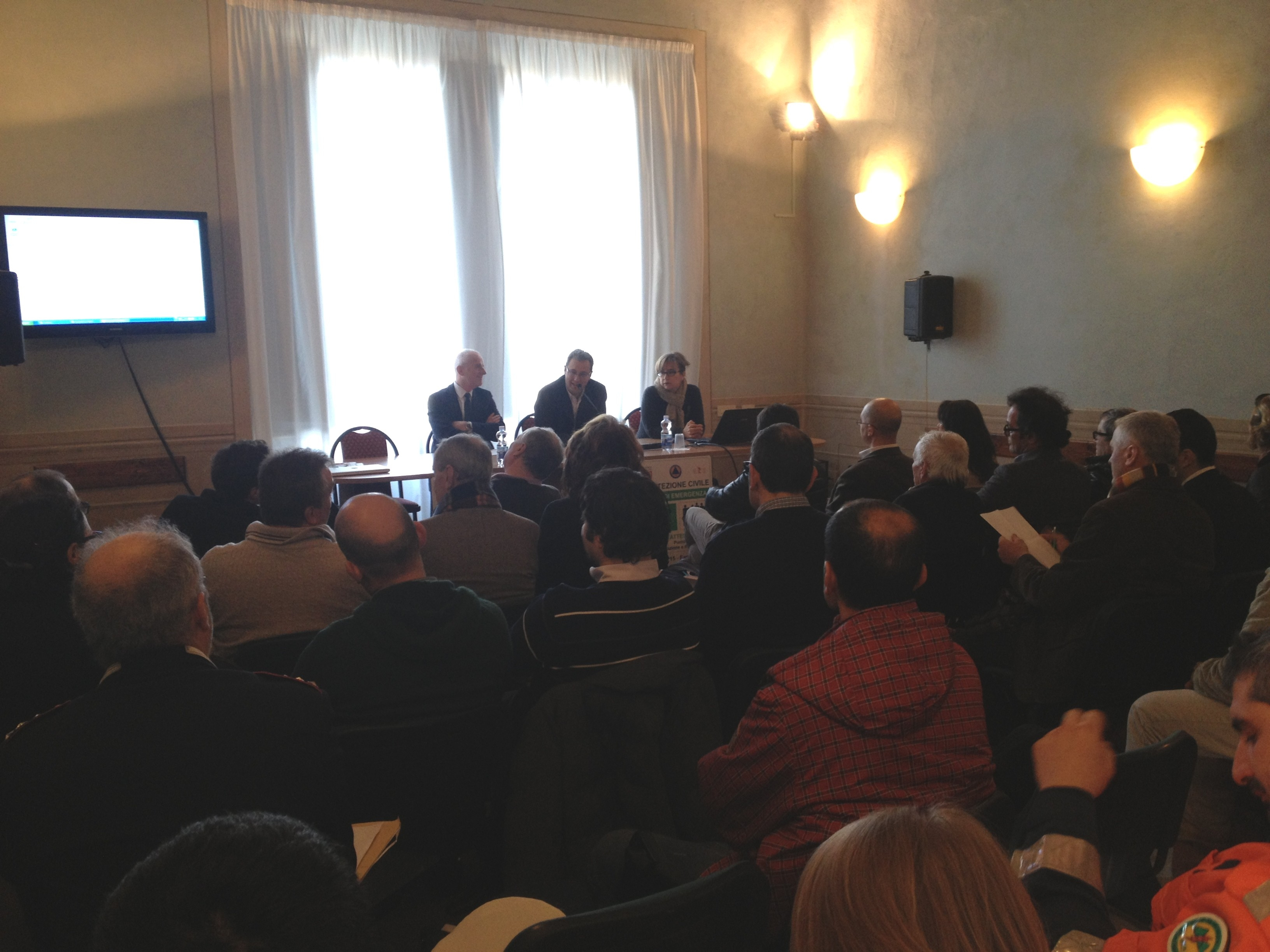 Protezione Civile: le novità per la Valdichiana illustrate in un incontro a Cortona