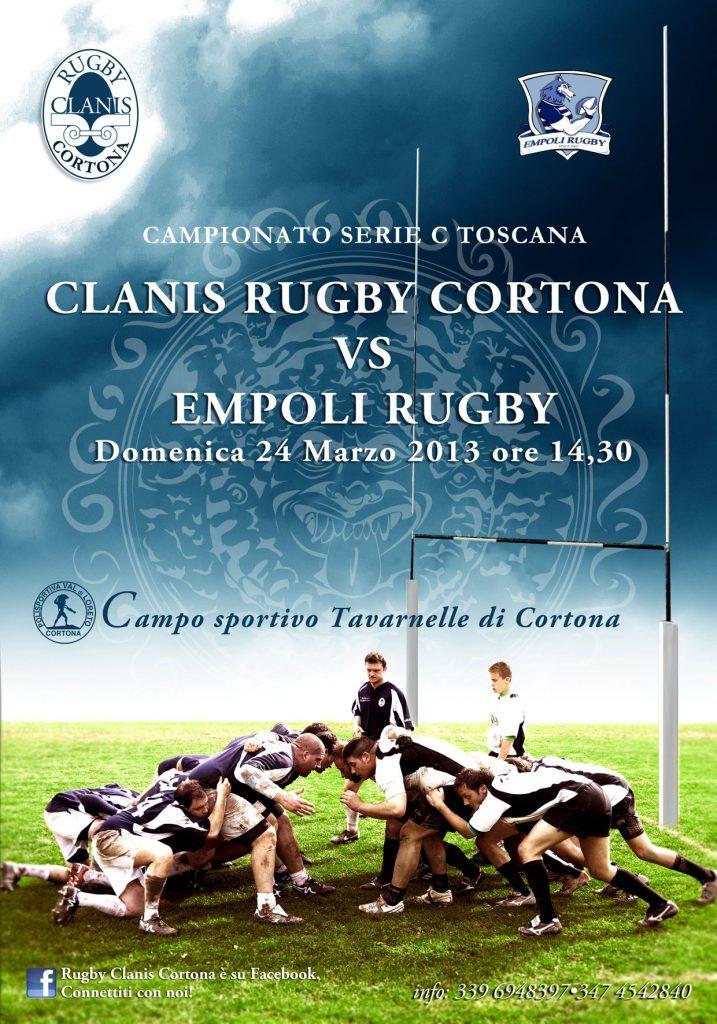 Rugby Clanis torna in campo: domenica a Tavarnelle arriva l'Empoli