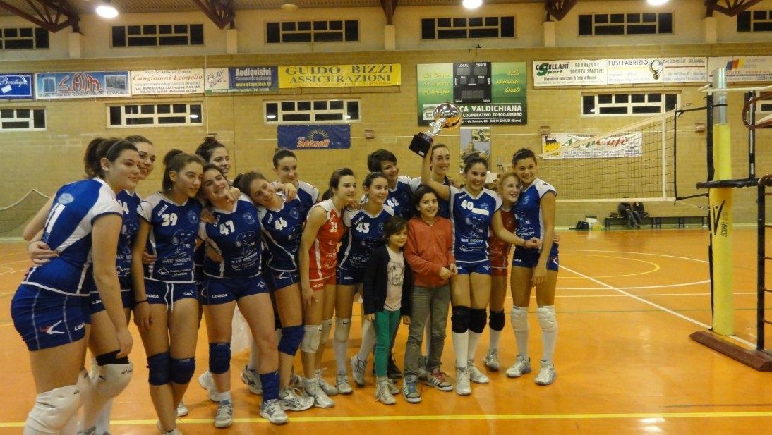 Cortona volley: l'Under 16 femminile vicina alla finale regionale