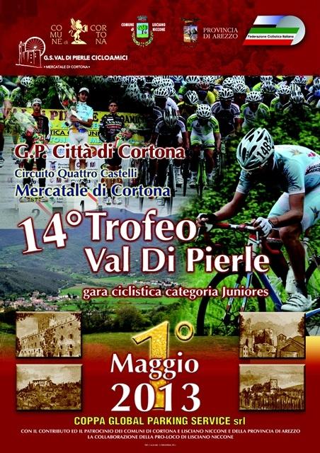 Ciclismo, cresce l'attesa per il Trofeo Val di Pierle