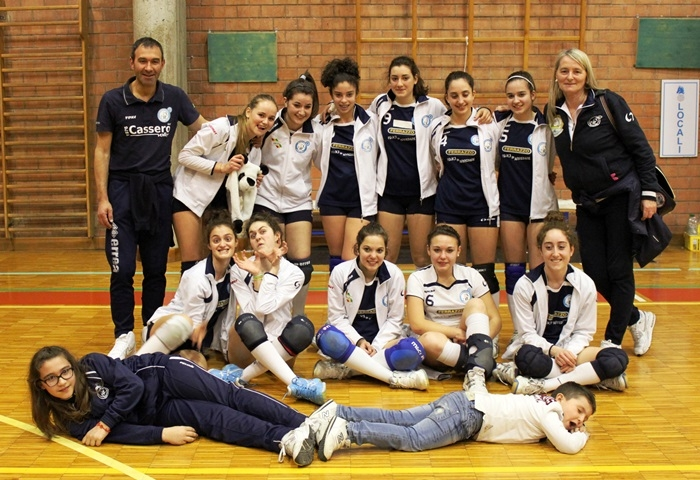 Cassero Volley, le Under16 dominano il torneo di Colle Val d'Elsa