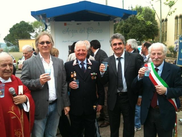Inaugurata la Casina dell'Acqua a Pozzo della Chiana