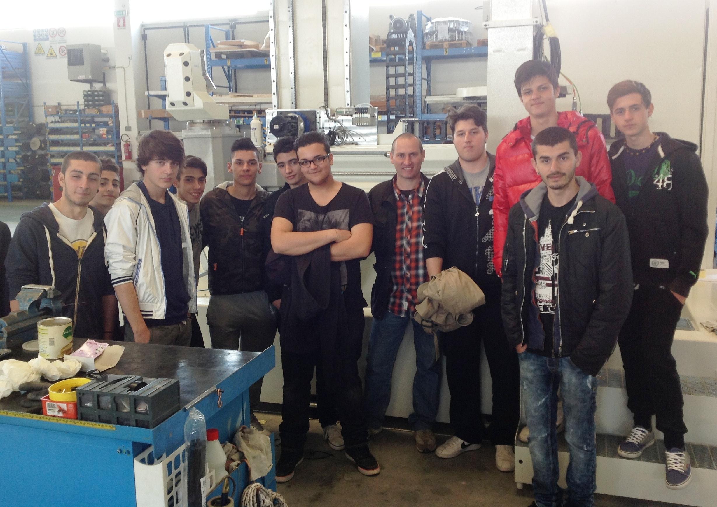L'Istituto Professionale di Foiano incontra la CTC-Routech