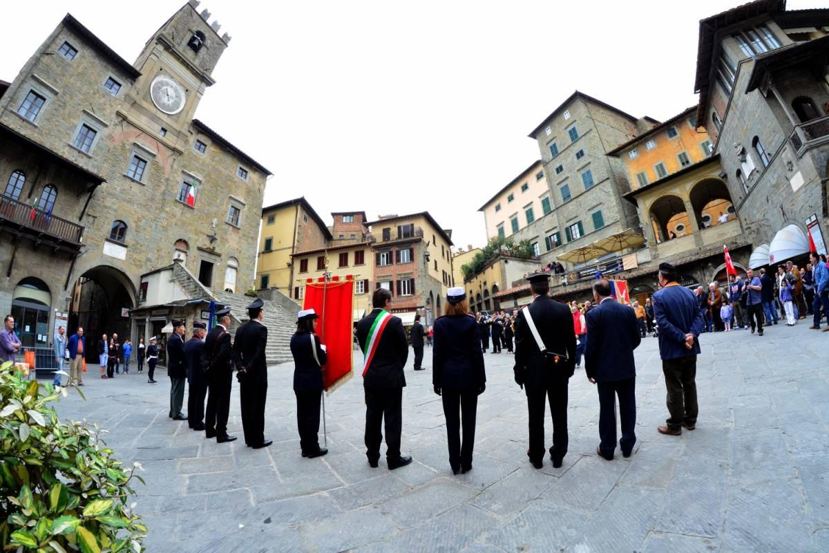 25 Aprile a Cortona: le foto