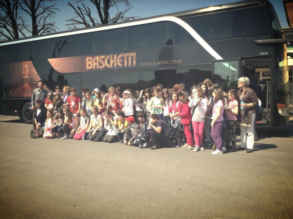 Studenti savinesi in gita a Capannori, col contributo del Comune