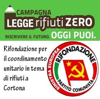 Cortona, Rifondazione lancia la campagna per la legge