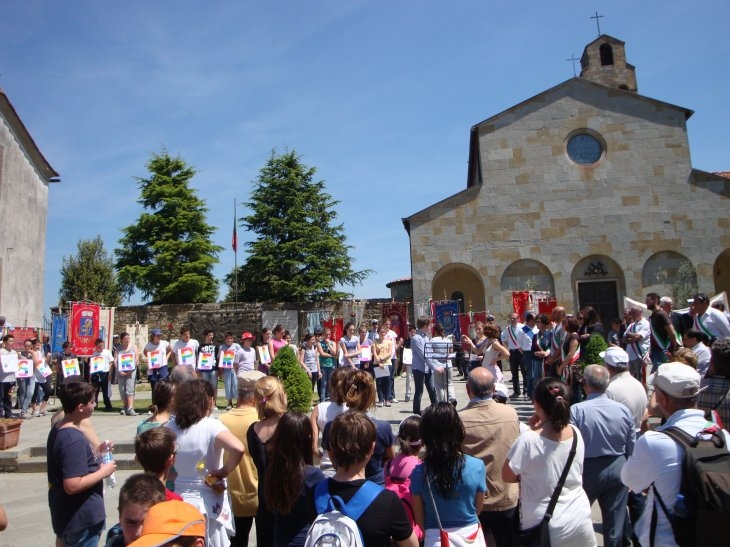 Torna la Marcia della Pace da Civitella a San Pancrazio