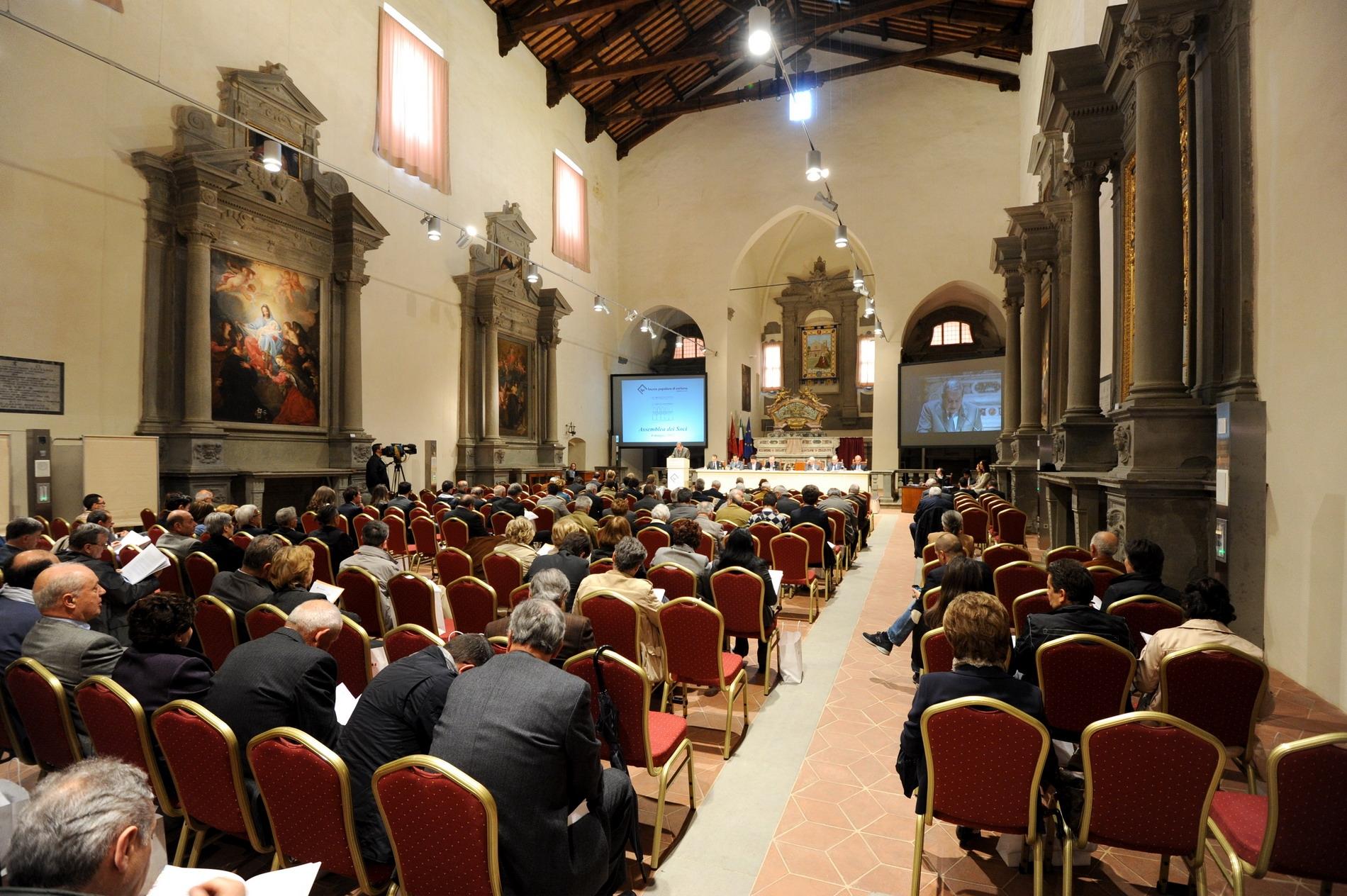 Banca Popolare di Cortona: il 5 Maggio Assemblea dei Soci