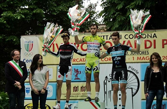 Ciclismo, Francesco Mancini sfreccia a Mercatale