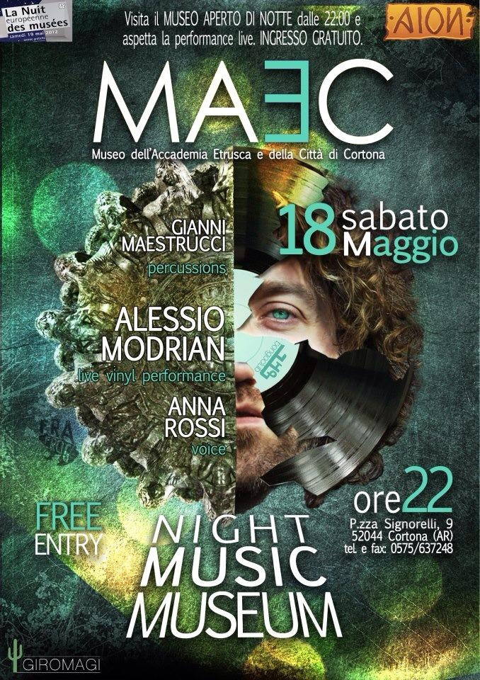 Torna Musica di Notte al MAEC di Cortona