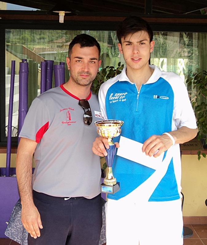 Tennis: Roberto Vecchi e Giada Sisi trionfano al Torneo Fontesecca