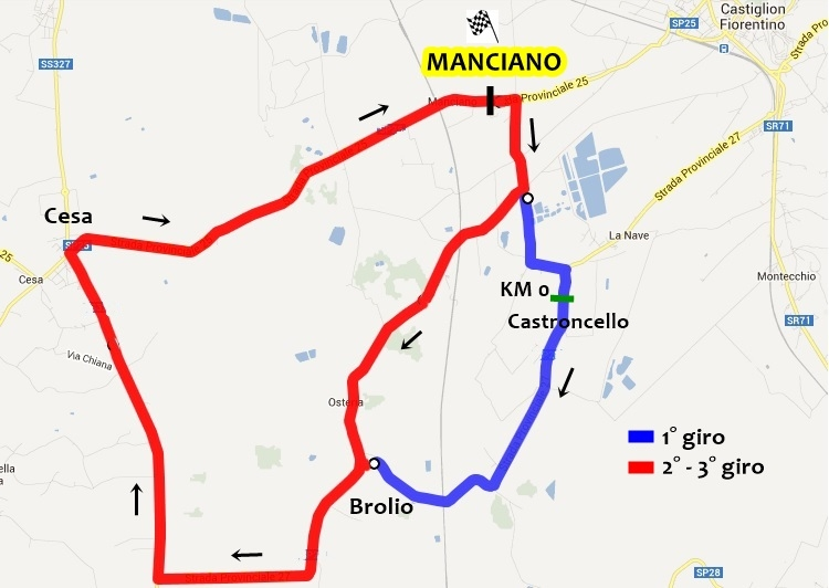 Ciclismo: a Manciano giù il velo sul Memorial Buracchi