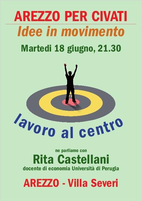 Arezzo per Civati, parte la campagna di ascolto nel territorio