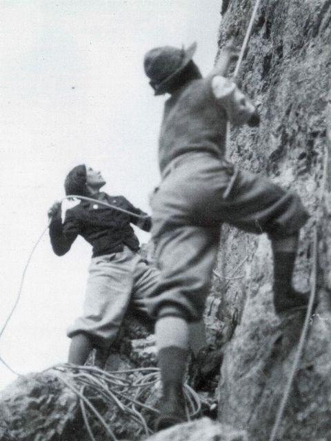 Ultimo giorno per scalare la parete rocciosa