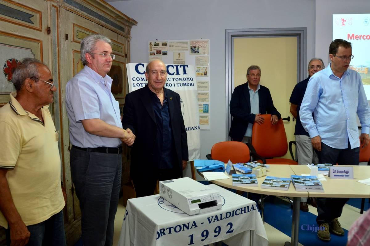 Nuova donazione del Calcit all'Ospedale di Fratta