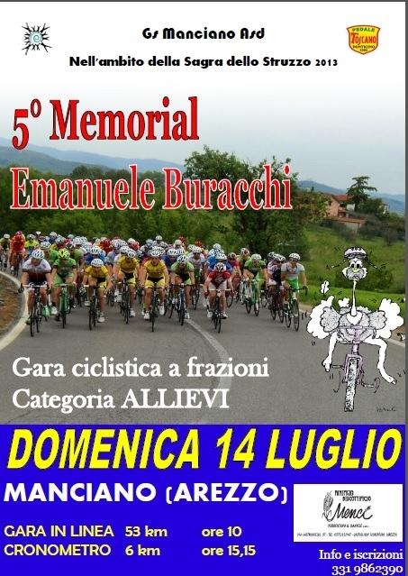 Ciclismo: 135 iscritti al