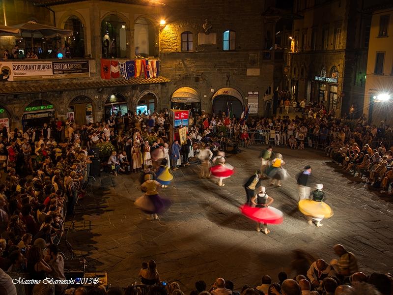 Festival Europeo di Musica e Danza Popolare: le foto di Cortona