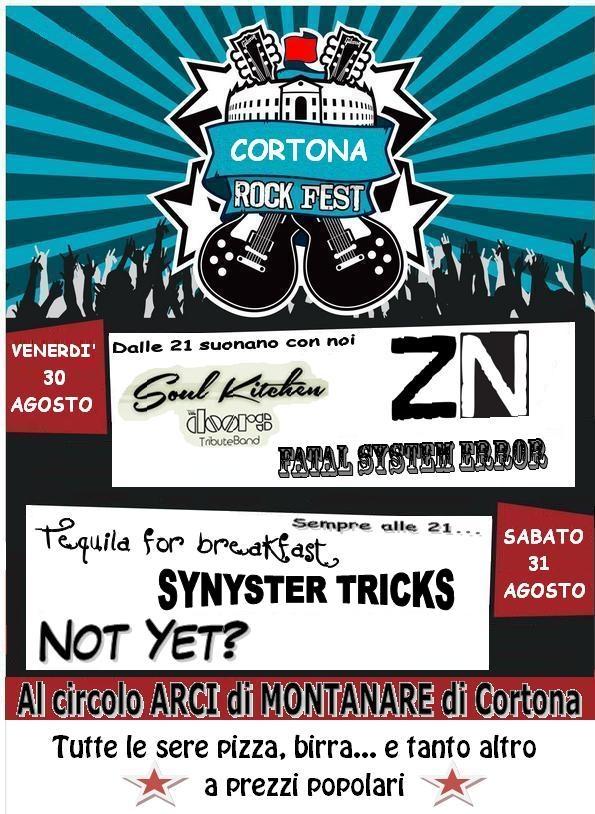 Cortona Rock Fest, giovani gruppi locali sul palco a Montanare