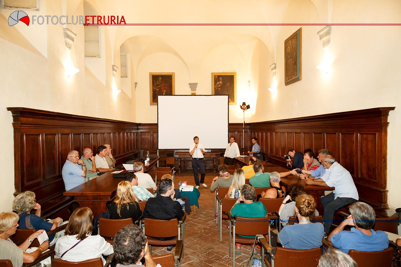 Serata d'onore con Riccardo Venturi e il Fotoclub Etruria