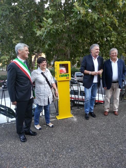 Due nuovi defibrillatori a Castiglion Fiorentino