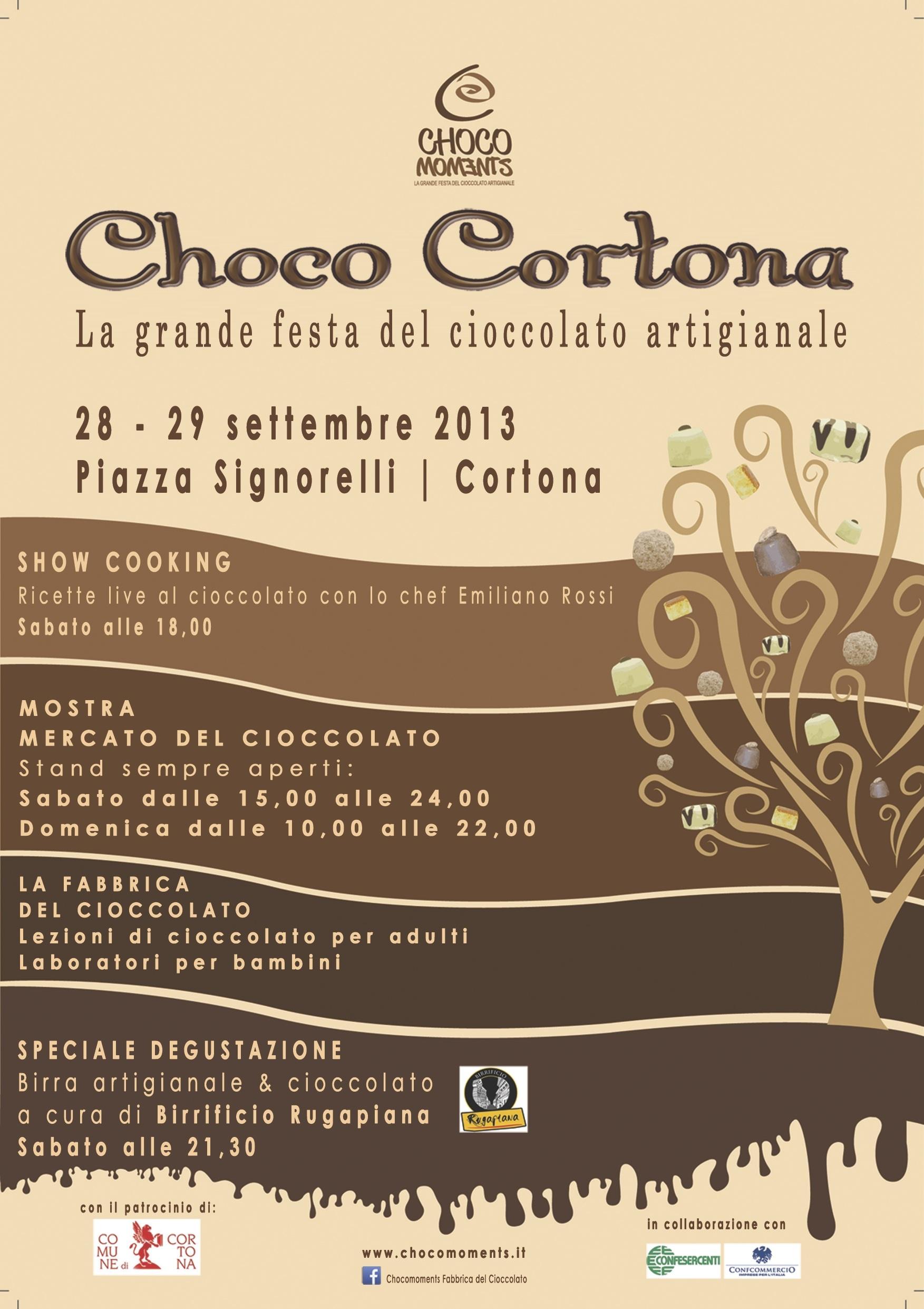 Arriva Choco Cortona, il cioccolato artigianale protagonista