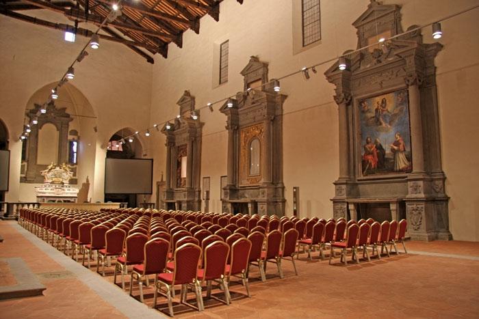 Cortona, convegnistica al top: aumentano le presenze a Sant'Agostino