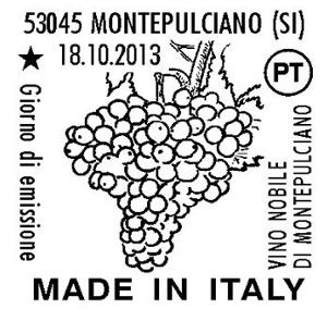 Montepulciano: Nuovo Francobollo dedicato al Nobile