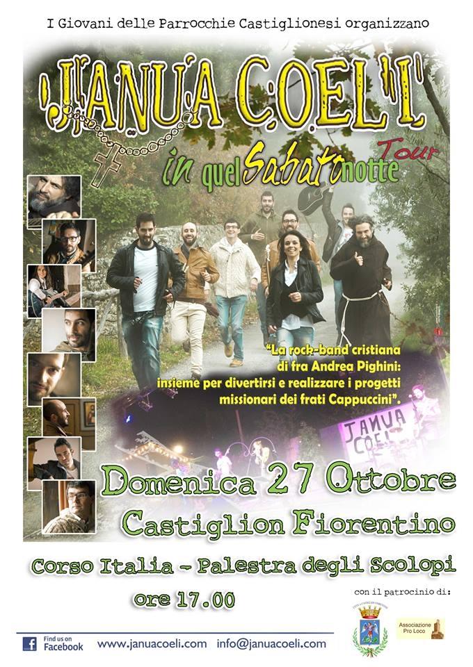 Janua Coeli in concerto a Castiglion Fiorentino