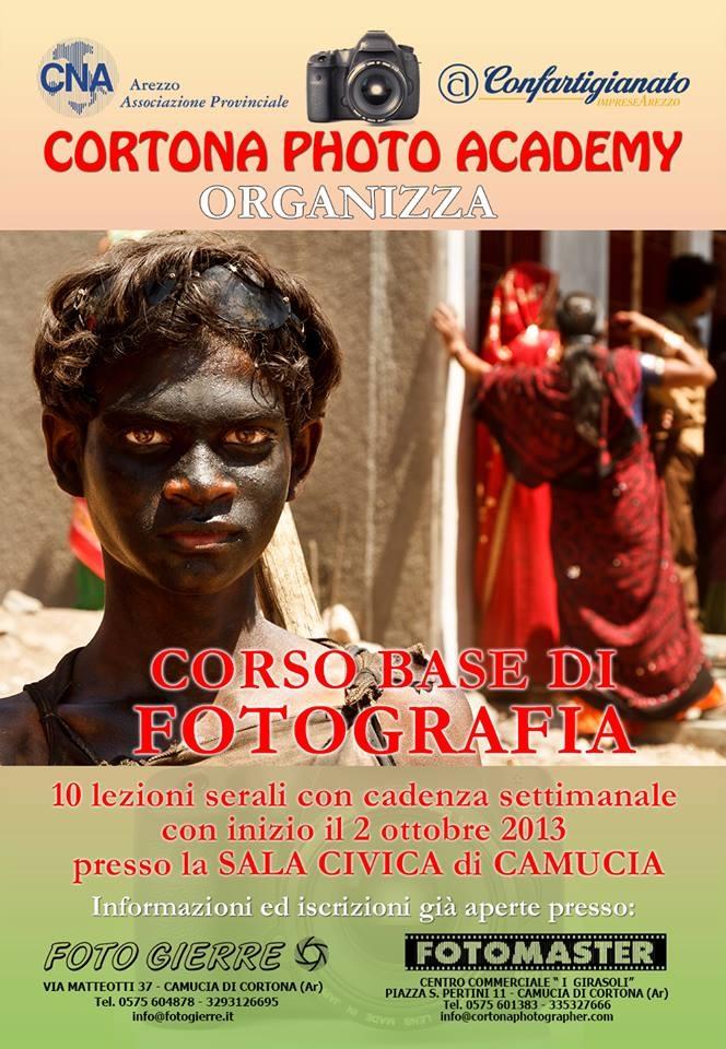 Corso di Base di Fotografia promosso da Cortona Photo Academy