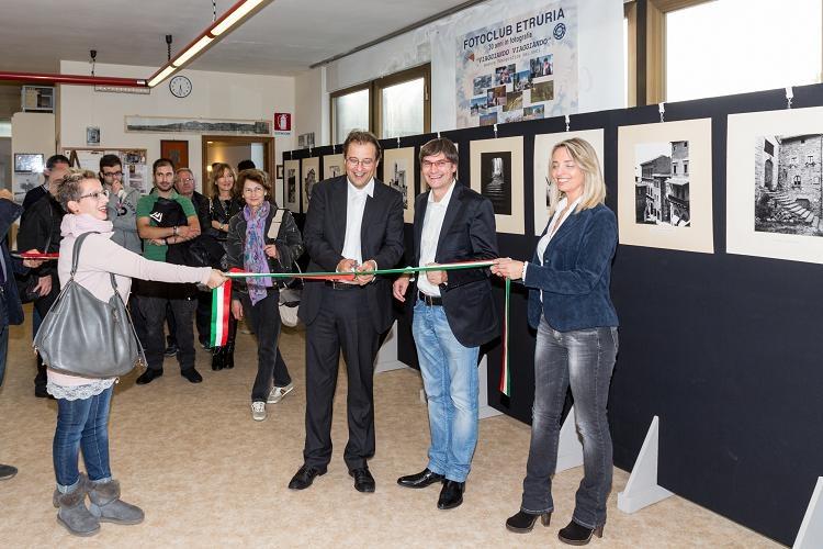 Inaugurata la nuova sede del FotoClub Etruria