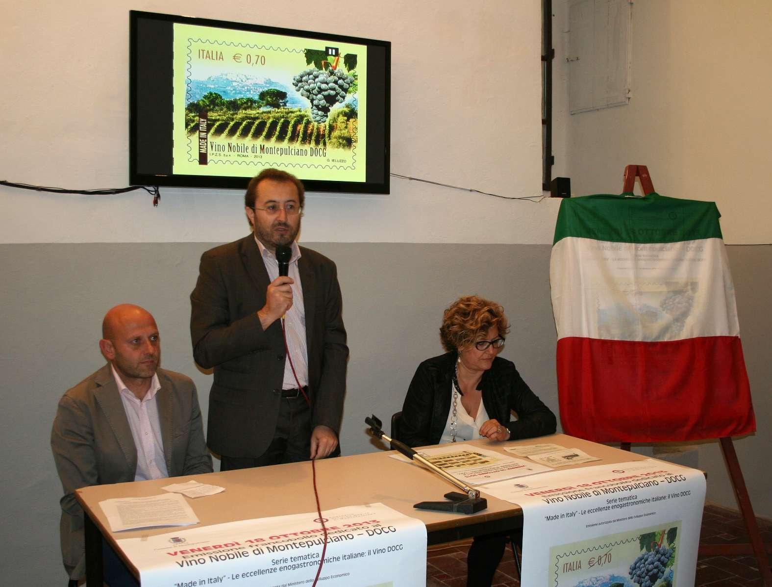 Ecco il francobollo dedicato al Nobile di Montepulciano