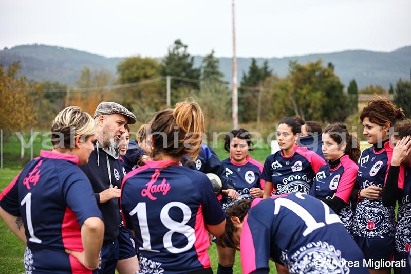 Tanto pubblico per il Rugby a Cortona, le ragazze vincono
