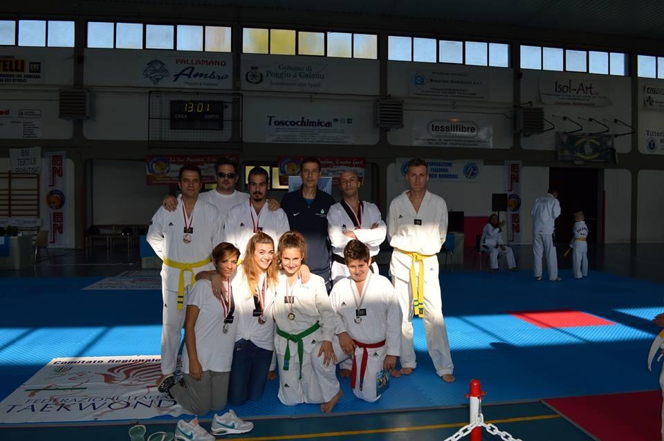Ottimi risultati della Kouros Taekwondo ai regionali di Forme