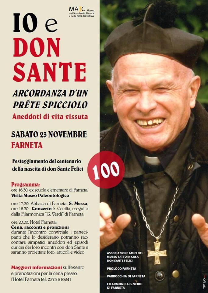 A Farneta il ricordo di Don Sante: un sabato ricco di eventi