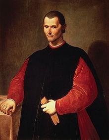 Machiavelli guardava lontano