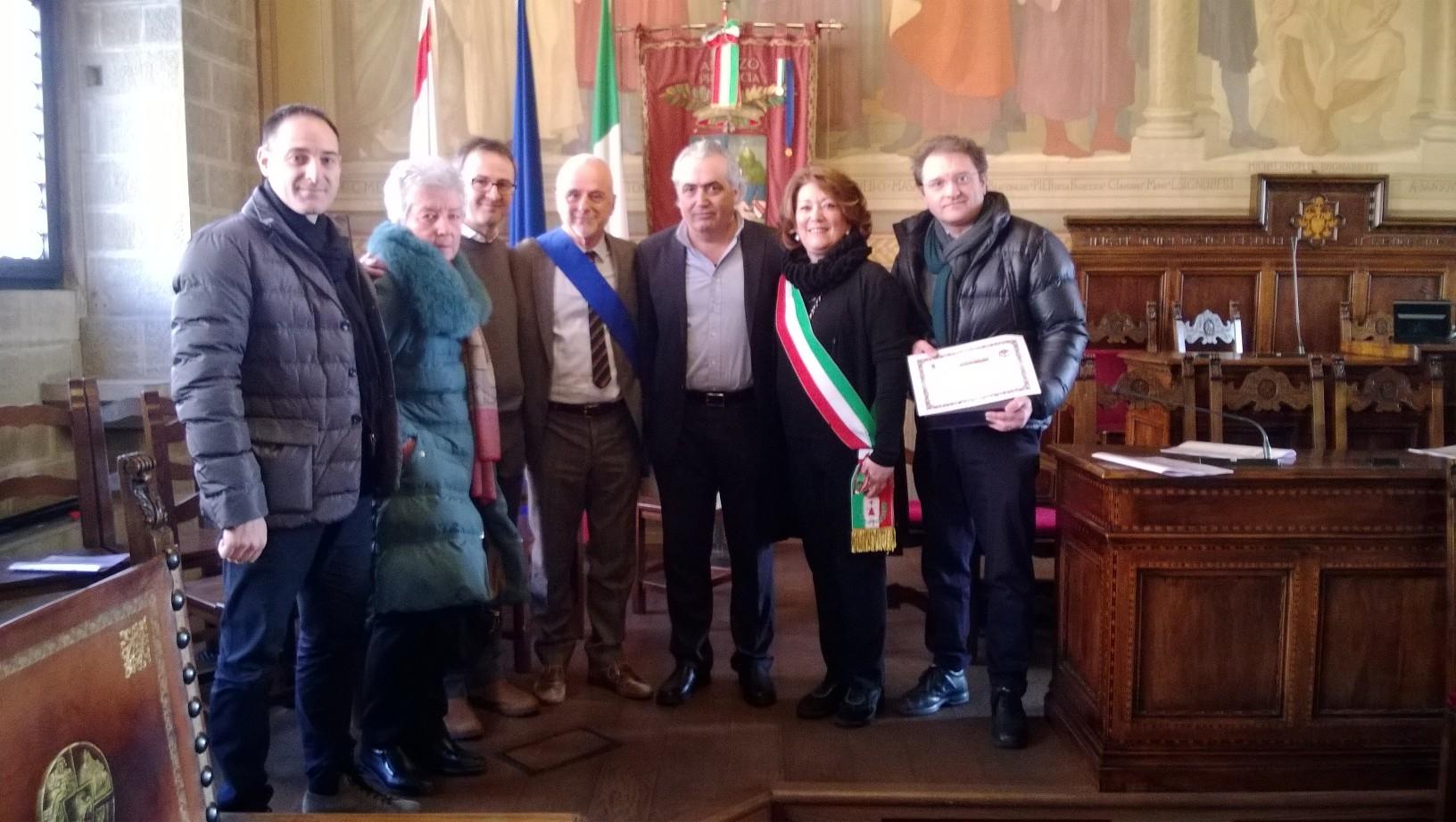 Un premio e un nuovo organigramma per la Pro Loco di Monte San Savino