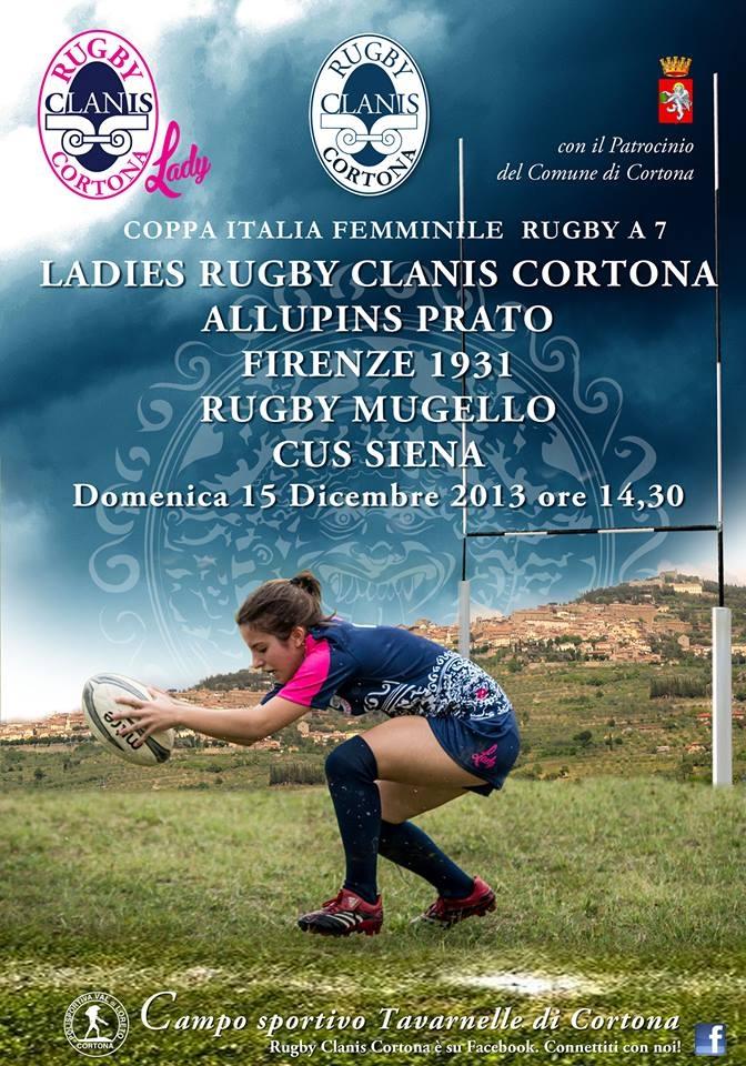 Rugby: torna la Coppa Italia femminile al campo di Tavarnelle