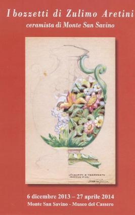 A Monte San Savino in mostra i bozzetti del ceramista Zulimo Aretini