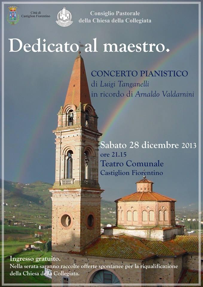 Castiglion Fiorentino: un concerto per ristrutturare la Chiesa della Collegiata