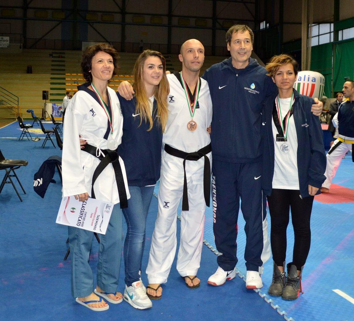 Due argenti e un bronzo per la Kouros Taekwondo agli Italiani di forme
