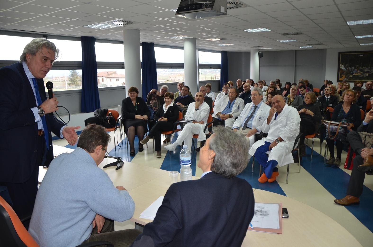 Ospedale della Fratta, l'Assessore Regionale ha incontrato i Sindaci