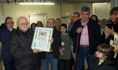 Cortona: la Val di Loreto ha festeggiato i 90 anni di Don Ferruccio