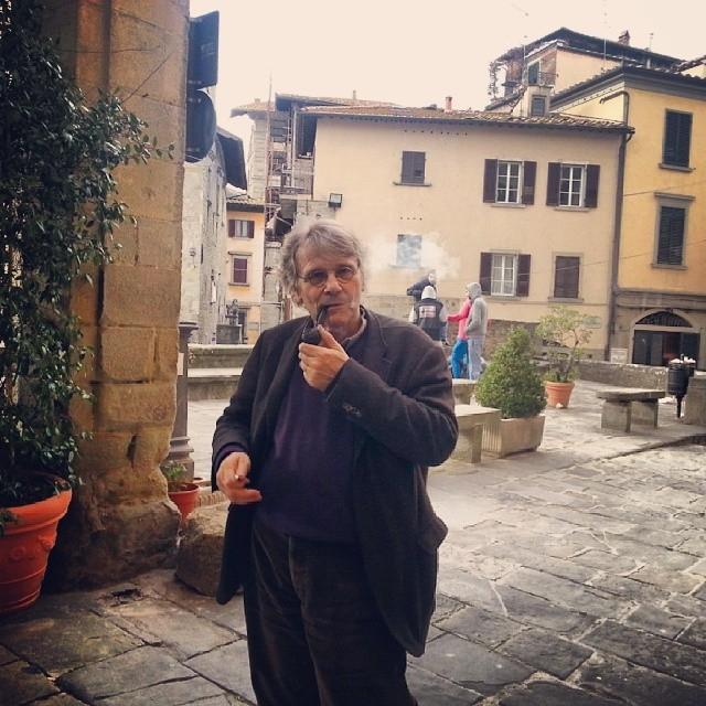 Daniel Pennac a Cortona, visita alla città etrusca prima di alcuni impegni in Umbria