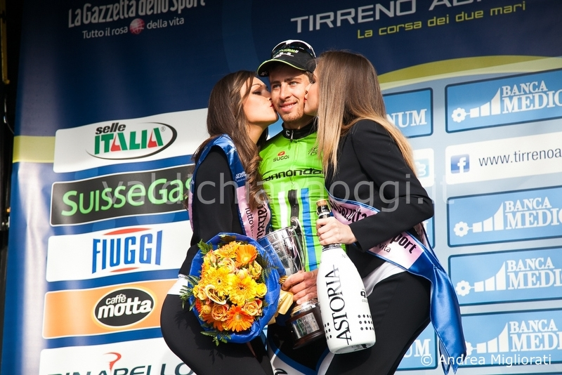 Tirreno - Adriatico, ad Arezzo vittoria di Sagan, stamani il passaggio in Valdichiana