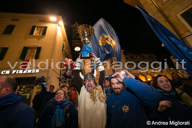 Foiano: per un solo punto gli Azzurri trionfano al Carnevale 2014