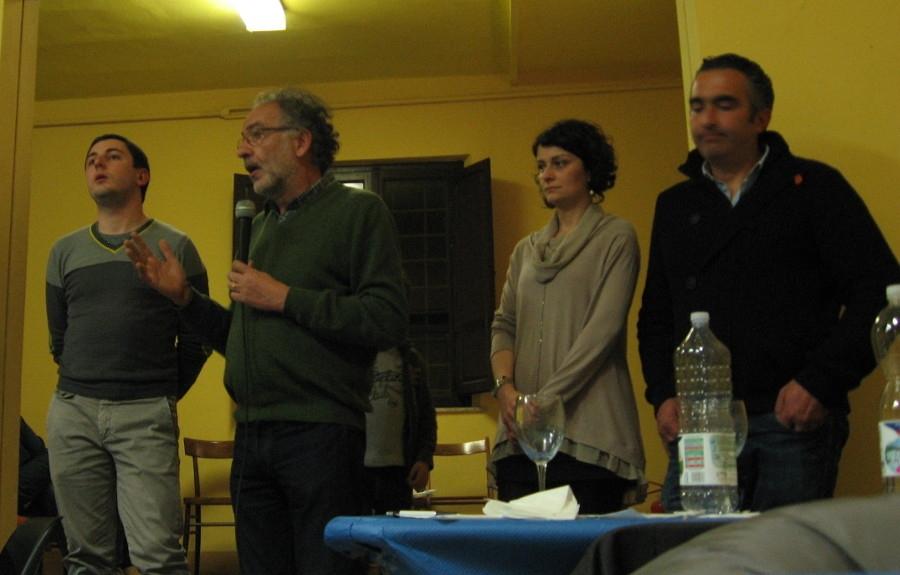 Successo per la serata promossa dal circolo di Sinistra Ecologia e Libertà a San Lorenzo
