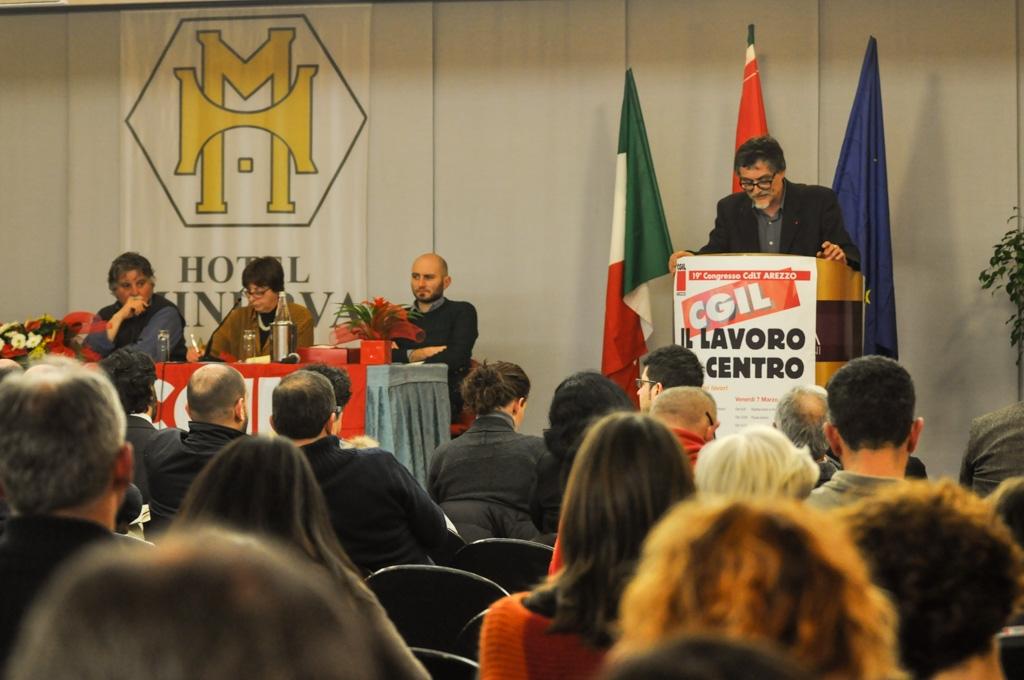 Si è tenuto ad Arezzo il Congresso CGIL