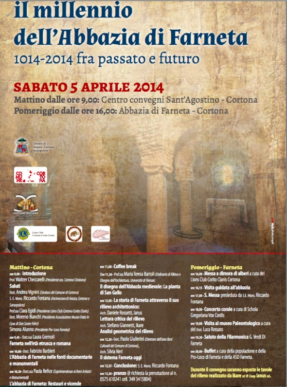 Una giornata dedicata all'Abbazia di Farneta, che celebra il suo millennio