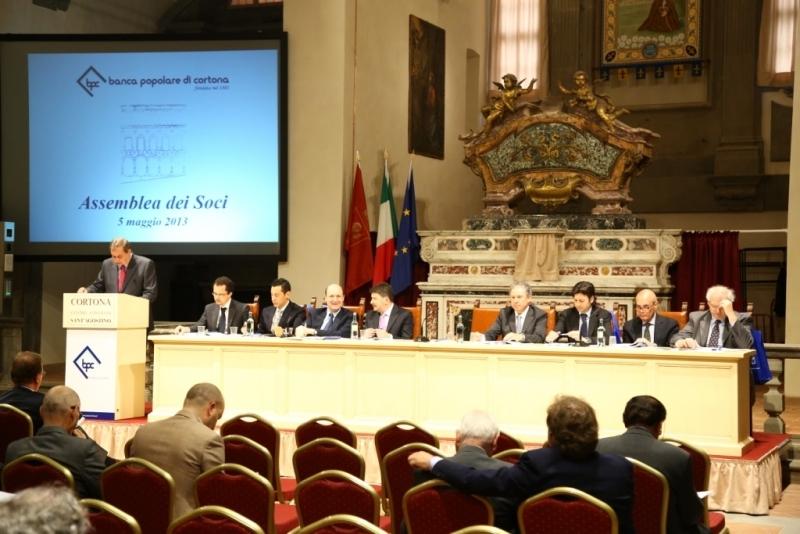 Domenica l'Assemblea annuale dei soci di Banca Popolare di Cortona