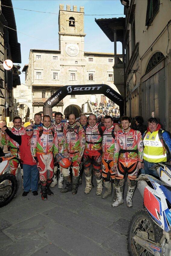 L'Enduro a Cortona domenica prossima con oltre 250 centauri